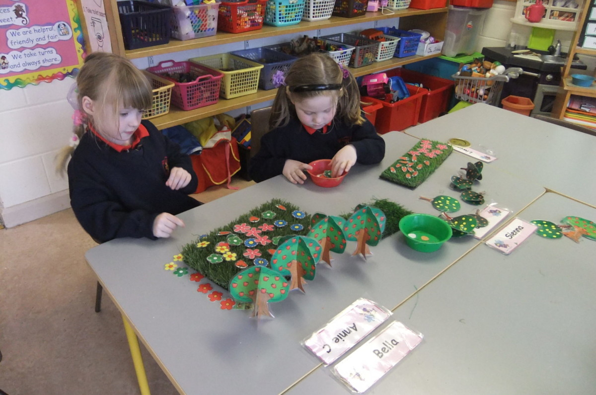 Aistear in Junior Infants
